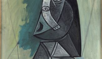"Pablo Picasso's ""Buste de Femme"" will need reliable travel through Israeli checkpoints before it reaches an art academy in the volatile West Bank. (Van Abbemuseum via Associated Press)"