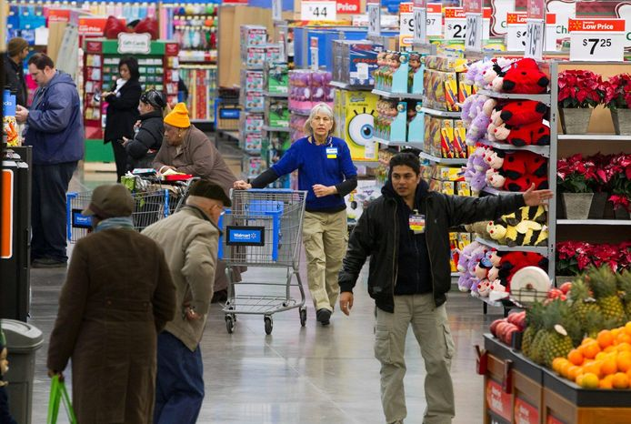 Customers are starting to find increased prices even at Wal-Mart, which has branded itself as a discount retailer. (Associated Press)