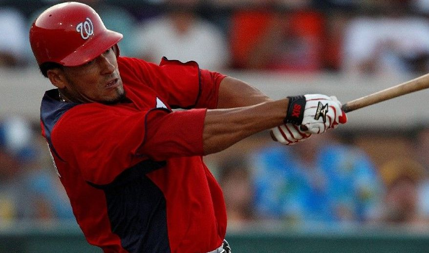 ASSOCIATED PRESS Nationals shortstop Ian Desmond is expected to drop to No. 7 in the batting order against the Florida Marlins on Wednesday after going 0-for-13 at the plate during Washington's first three games.