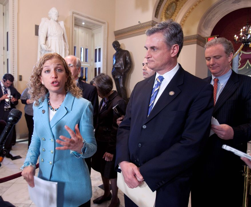 "Rep. Debbie Wasserman-Schultz has been called ""a junkyard dog who is mean, nasty, shrill."" (Associated Press)"