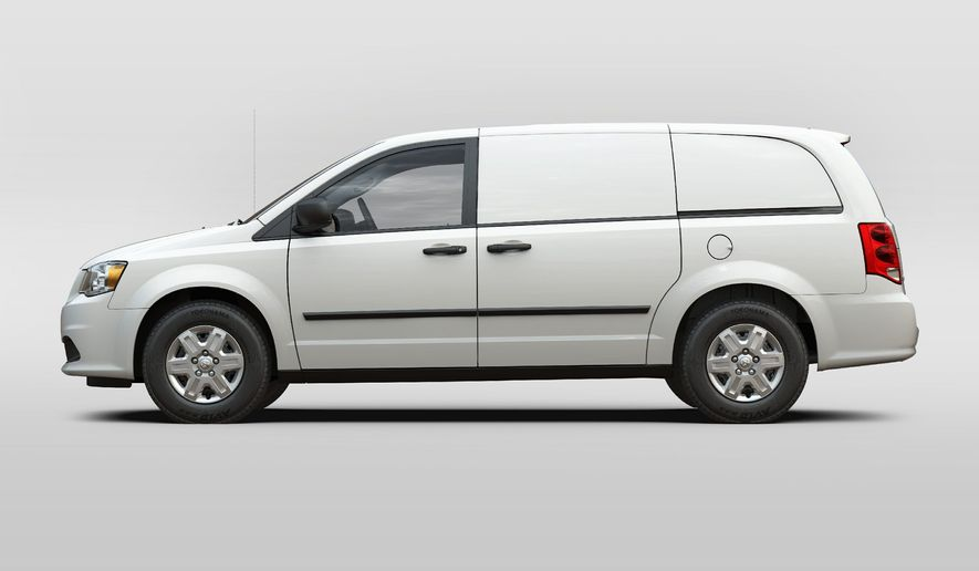 The 2012 Ram Cargo Van is available in four paint colors: Bright Silver Metallic, Brilliant Black Crystal Pearl, Stone White and True Blue Pearl.