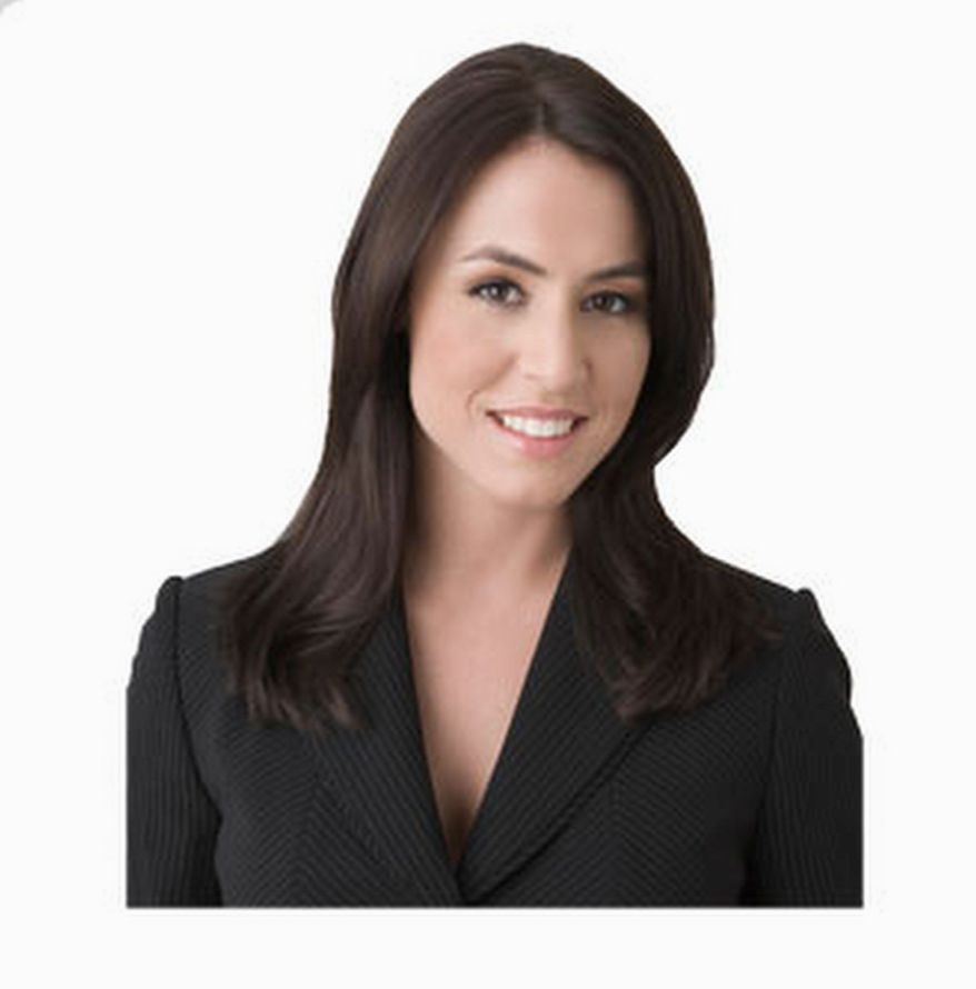 """The """"conservative feminist""""? Poltical commentator Andrea Tantaros gives an update on the idea at the Heritage Foundation. (Image from Andrea Tantaros.com)"""