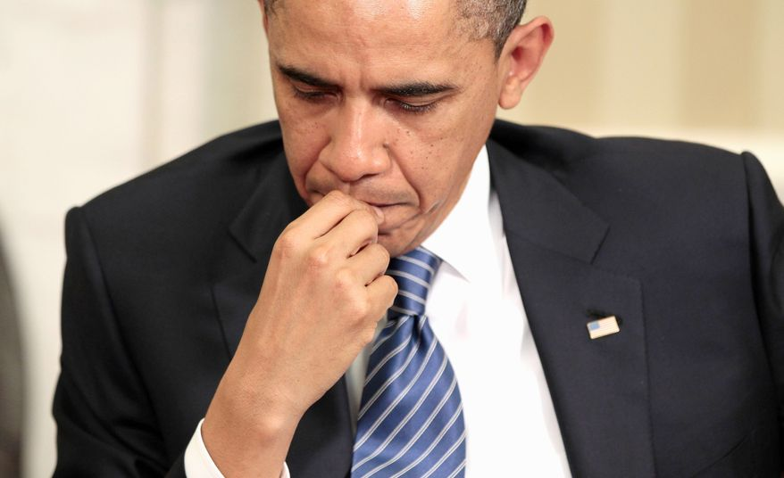 After weeks of being criticized for being absent from the discussions as a shutdown inched closer, President Obama this week made a full-court press that began with phone calls to Hill leaders on Saturday. (Associated Press)