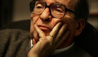 "** FILE ** This Tuesday Jan. 31, 2006, picture shows director Sidney Lumet during an interview in his New York office where he discussed the current state of TV news, the focus of his 1976 film, ""Network."" Lumet, the award-winning director of such acclaimed films as ""Serpico,"" ""Dog Day Afternoon"" and ""12 Angry Men,"" has died, the family said Saturday, April 9, 2011. He was 86. (AP Photo/Bebeto Matthews)"