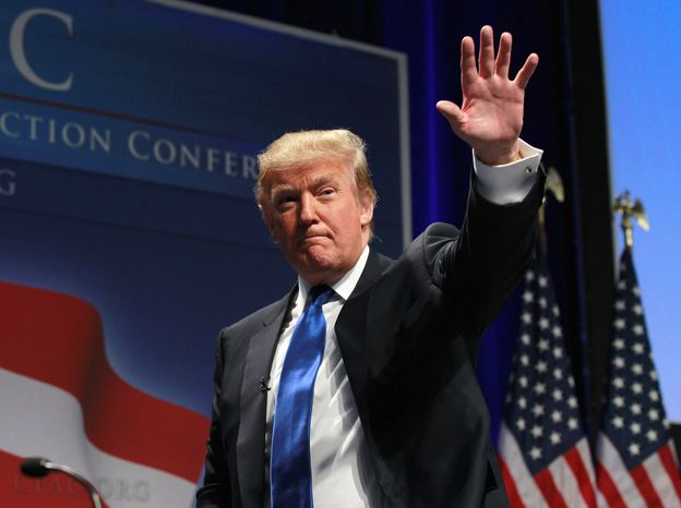 """""""Why doesn't he show his birth certificate? The fact is, if he wasn't born in this country, he shouldn't be the president of the United States,"""" Donald Trump, the billionaire developer, said in a CNN interview that aired Sunday. The Constitution requires that the president be a """"natural-born citizen."""" (Associated Press)"""