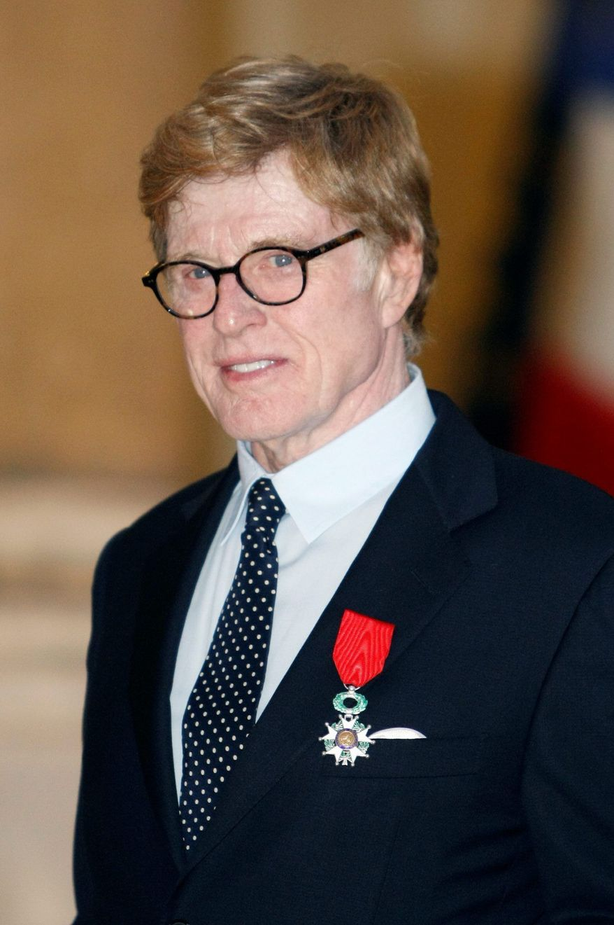 "Actor Robert Redford said Sunday that he's ""depressed"" the nation has reduced itself to playing political ""games"" while serious issues go unconfronted. (Associated Press)"