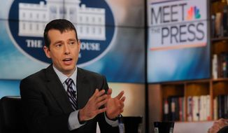 **FILE** David Plouffe, former White House senior adviser. (Associated Press)