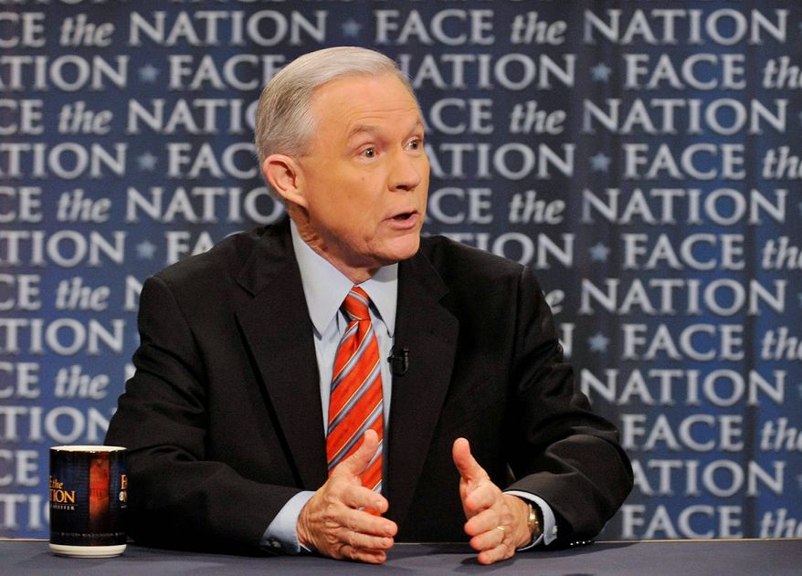 """Sen. Jeff Sessions, ranking Republican on the Senate Budget Committee, discusses last week's budget deal and the debt ceiling on CBS' """"Face the Nation"""" on Sunday. He said President Obama must do more than just give a speech he is planning this week. (Associated Press)"""