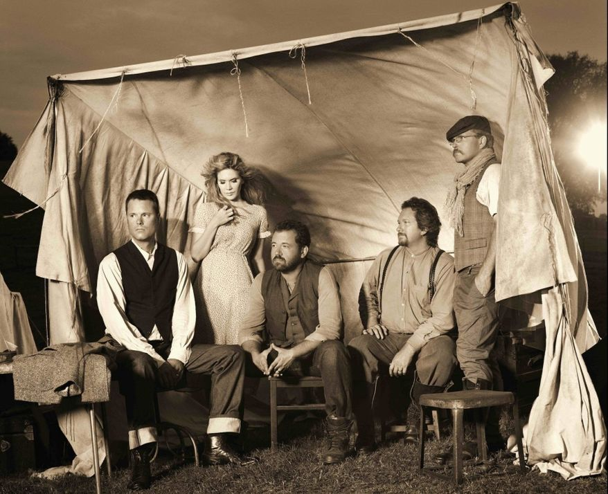 """""""Paper Airplane"""" is Alison Krauss' first album together with Union Station in seven years, but the bluegrass stars show no trace of rust from the hiatus. (Rounder Records)"""