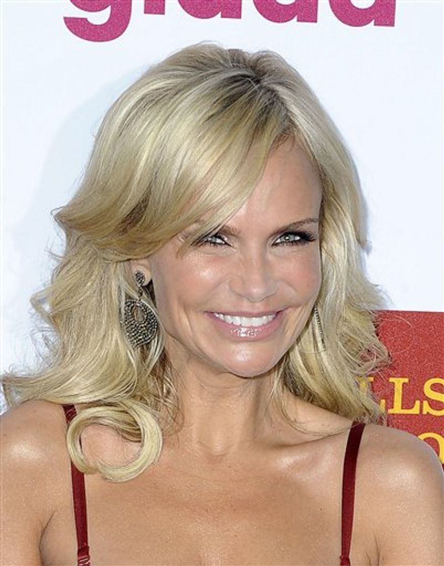 Kristin Chenoweth arrives to The 22nd Annual GLAAD Media Awards on Sunday April 10, 2011, at The Westin Bonaventure in Los Angeles. (AP Photo/Katy Winn)