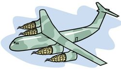 Illustration: Air Force biofuel by Linas Garsys for The Washington Times