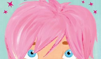 "In this book cover image released by Celebra Children's Books, an imprint of Penguin Young Reader's Group, ""The Boy With Pink Hair,"" by celebrity blogger Perez Hilton and illustrated by Jen Hill, is shown. The picture book, which tells of a boy with a ""shock of fabulous hair"" and ""celebrates individuality and acceptance,"" will be released in September. (Associated Press/Celebra Children's Books)"