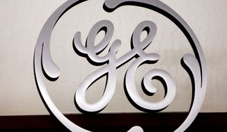 ** FILE ** The General Electric logo (Associated Press)