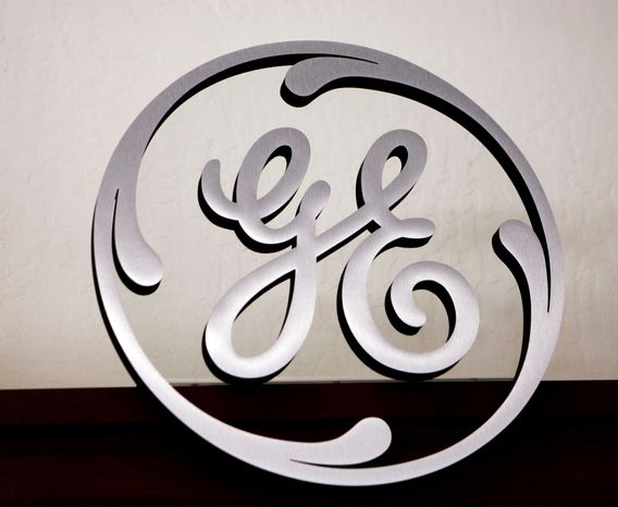 ** FILE ** The General Electric logo (Associated Press