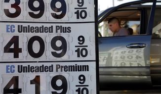ASSOCIATED PRESS More than six of every 10 Americans have cut back on other expenses and reduced their driving as a result of the rising gas prices caused by tumult in North Africa and the Middle East. President Obama's approval rating has taken a hit.