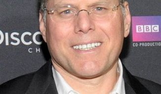 "FILE - In this Feb. 25, 2010 file photo originally provided by Discovery Communications, Discovery CEO David M. Zaslav  attends the premiere of ""Life"" at the Getty Center in Los Angeles. Discovery Communications Inc. is launching a television network for rich guys and their toys. The target audience is men with incomes of $150,000 a year and more. (AP Photo/ Discovery Communications, Mark Davis)"