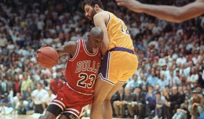 """Associated Press The concept of a """"jock tax"""" is thought to date back to the end of the 1991 NBA playoffs, in which the Chicago Bulls defeated the Los Angeles Lakers. The practice snowballed from there."""