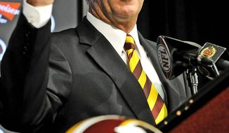 **FILE** Washington Redskins General Manager Bruce Allen (The Washington Times)