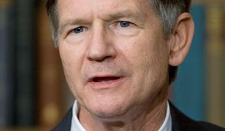 """Rep. Lamar Smith, Texas Republican, wants the Justice Department to halt Utah's guest-worker program for illegal immigrants, calling it """"unconstitutional."""" (Associated Press)"""