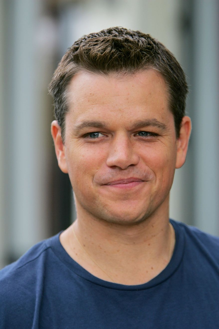 Don't count on actor Matt Damon attending any of President Obama's six fundraisers on the West Coast. (Associated Press)