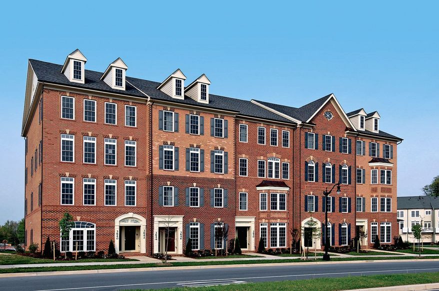 Ryan Homes is building town-home-style condominiums at the Villages of Urbana in Frederick. The homes are priced from $239,990 to $269,990.