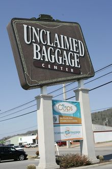 The Unclaimed Baggage Center, in Scottsboro, Ala., has become a mecca of sorts for bargain hunters looking to purchase travelers' lost possessions. (Associated Press)