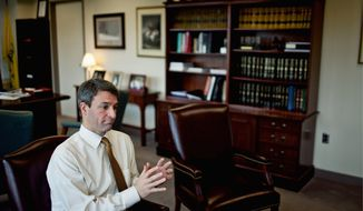 Virginia Attorney General Kenneth T. Cuccinelli II (Drew Angerer/The Washington Times)