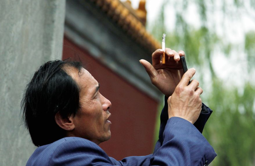 ASSOCIATED PRESS Amended guidelines that ban smoking in more indoor public venues in China went into effect Sunday, but the changes were not expected to have a dramatic impact. Nearly 30 percent of adults in China smoke.