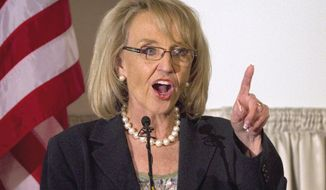 **FILE** Arizona Gov. Jan Brewer (Associated Press)