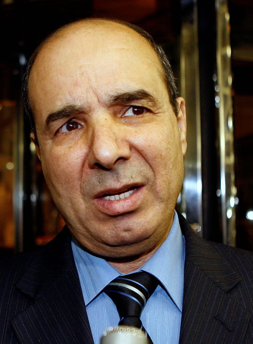 Ibrahim Dabbashi, Libya's deputy ambassador at the United Nations