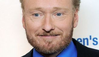 ASSOCIATED PRESS Conan O'Brien