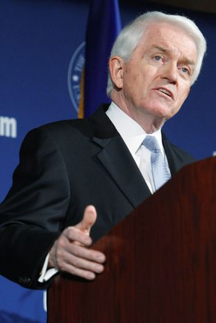 ** FILE ** Thomas J. Donohue, president of the U.S. Chamber of Commerce.