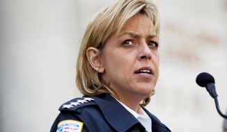 Metropolitan Police Chief Cathy L. Lanier (Drew Angerer/The Washington Times)