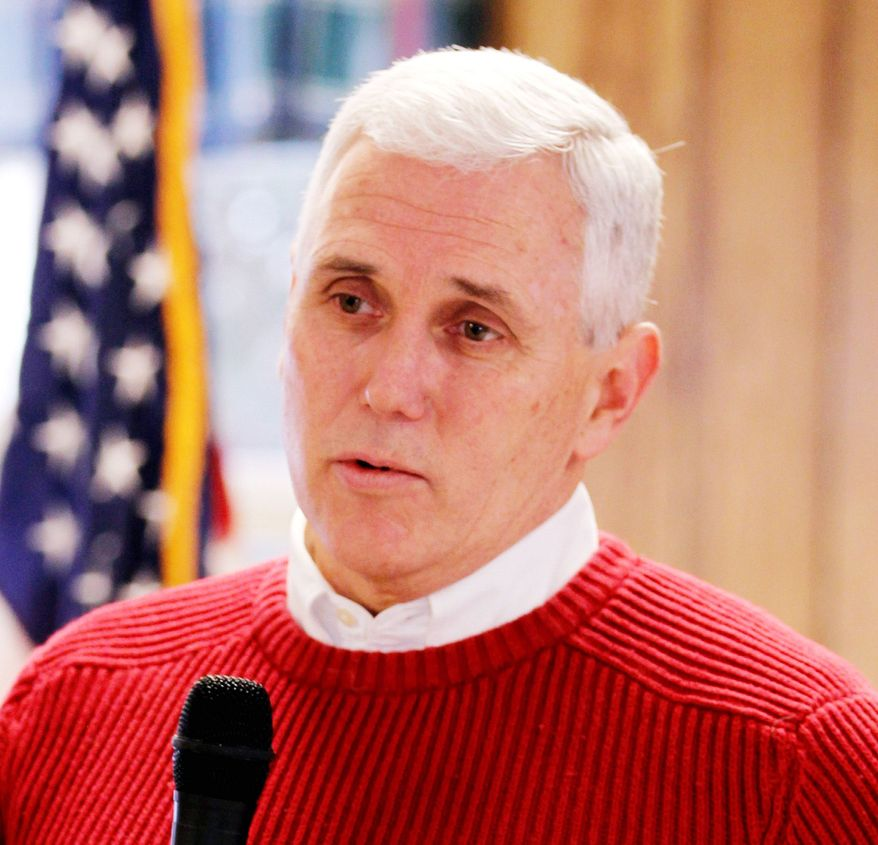 """Associated Press Calling himself a """"common-sense"""" conservative, Rep. Mike Pence, Indiana Republican, made it official Thursday that he is running for governor."""