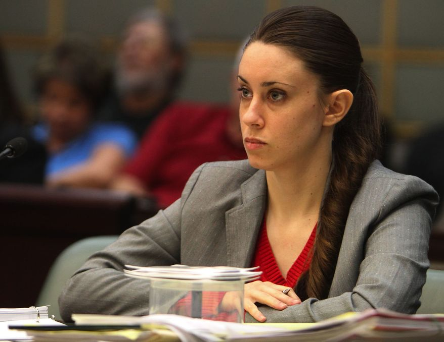 ** FILE ** The trial of Casey Anthony, accused of killing her 2-year-old daughter almost three years ago, is set to begin in Florida Monday, May 9, 2011, amid great media hype. (Associated Press)