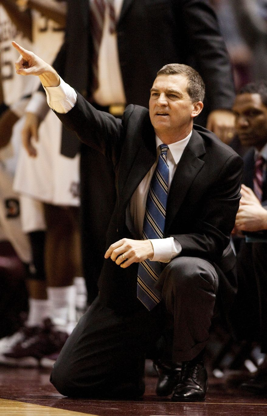 At Texas A&M, Mark Turgeon often was looking up at Big 12 powers Kansas and Texas. In the ACC, it will be Duke and North Carolina. (Associated Press)