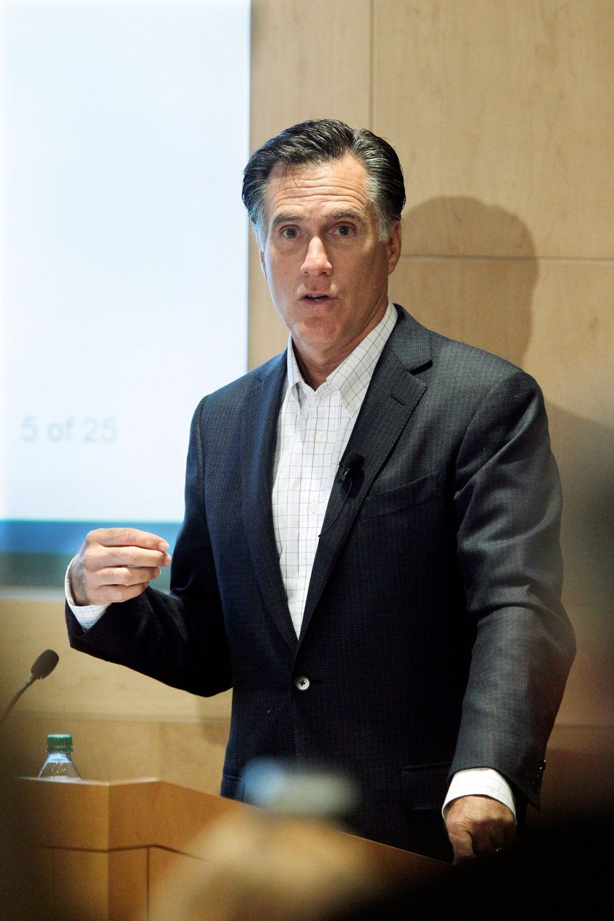 """ASSOCIATED PRESS DIAGNOSIS: """"Our plan was a state solution to a state problem,"""" Mitt Romney said about Massachusetts' health care reform."""