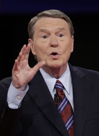 **FILE** Jim Lehrer (Associated Press)