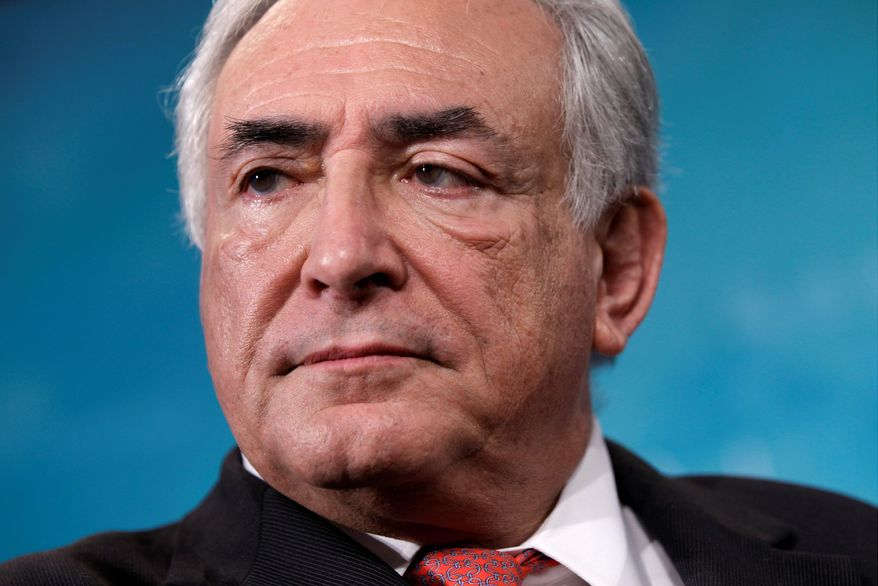 ASSOCIATED PRESS IMF Managing Director Dominique Strauss-Kahn was seen as the strongest potential challenger to French President Nicolas Sarkozy until his arrest Saturday.