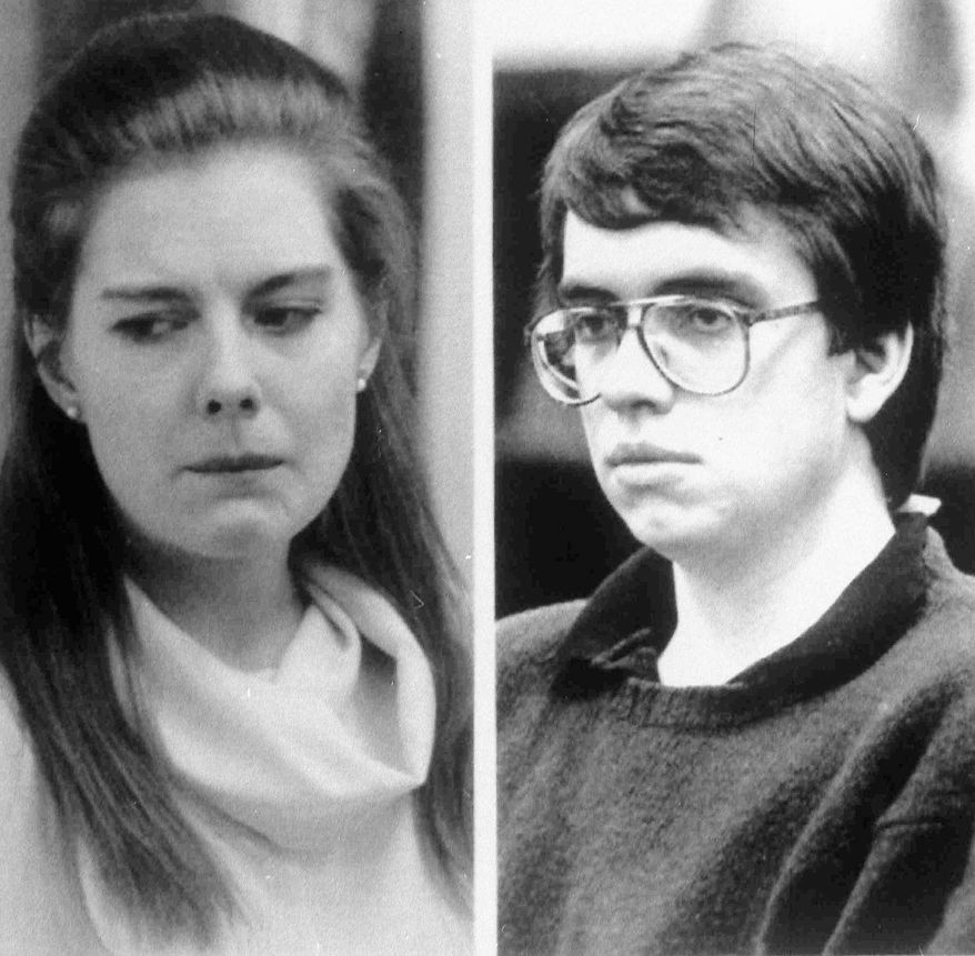 Elizabeth Haysom's parents were killed in 1985 in their Bedford County, Va., home. Her boyfriend took the blame, he says, to spare her from the death penalty.