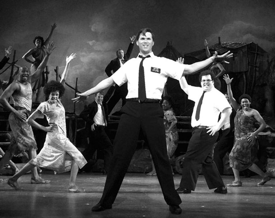 "A scene from ""The Book of Mormon"""
