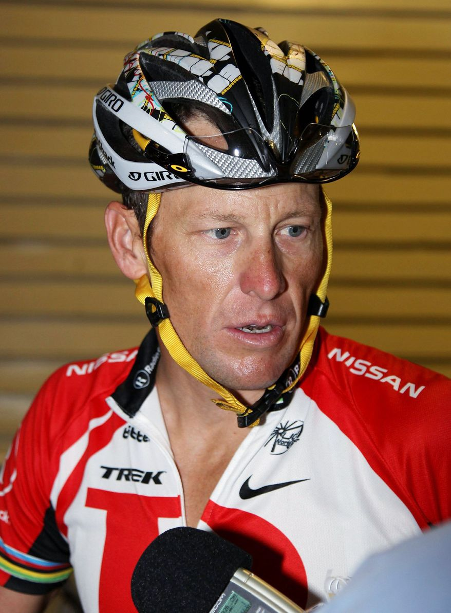 ASSOCIATED PRESS Seven-time Tour de France champion Lance Armstrong has denied ever taking performance-enhancing drugs and has never failed a drug test.