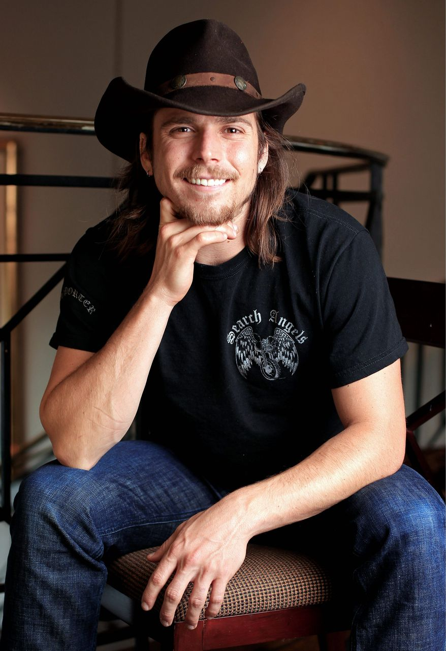 Guitarist Lukas Nelson is on the road again with his famous father, country music superstar Willie Nelson. (Associated Press)