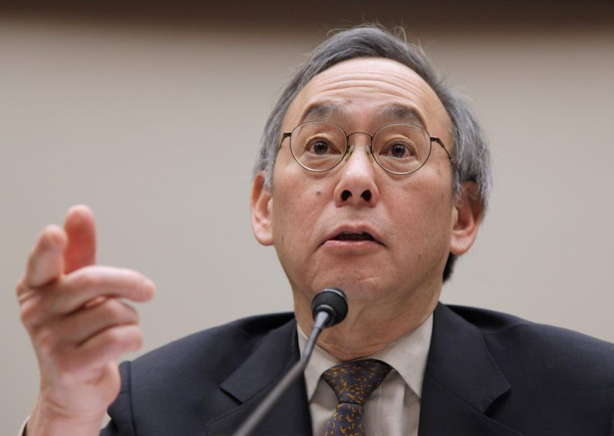 **FILE** Department of Energy Secretary Steven Chu (Associated Press)
