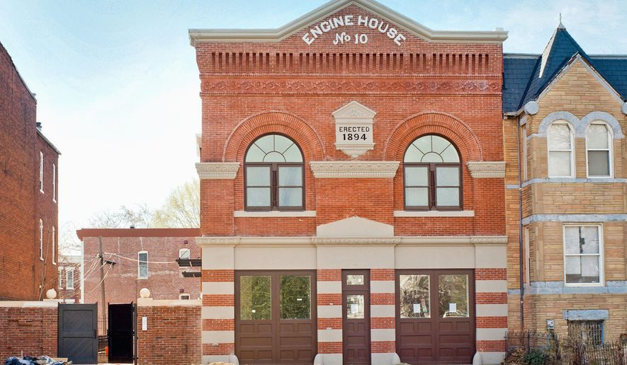 The Victorian-era fire station at 1341 Maryland Ave. NE has become the Engine House, contemporary-style condominium lofts developed by Hamel Builders and the Argos Group.