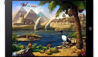 Use the power of the iPad to explore the Nile in Ansel & Clair's Adventures in Africa for the iPad.