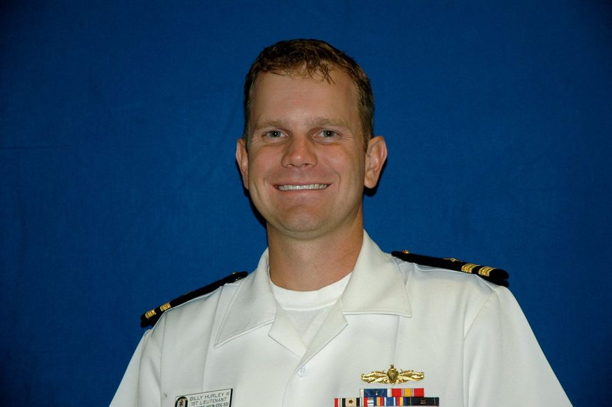 BILL HURLEY Former Navy lieutenant and Naval Academy graduate Bill Hurley, will compete in the Melwood Prince George's County Open, a Nationwide Tour event, this week.