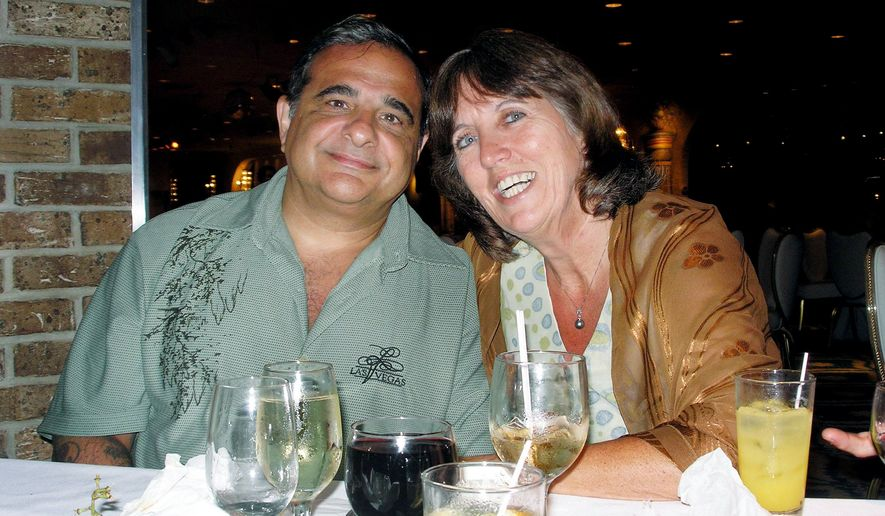 "ASSOCIATED PRESS John Valentino met Debbie Deborah Martinez two years ago after finding ""plenty of lemons"" through online dating. The 50-something former Marines are now married."