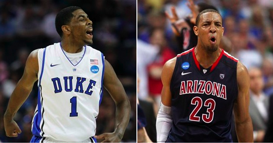 Kyrie Irving at No. 1 and Derrick Williams at No. 2 could be dream picks for the Cleveland Cavaliers if their rumored trade to acquire the No. 2 pick pans out. The Cavs already have the No. 1 pick, which they lucked into via the lottery. (AP Photo/Bob Leverone), (AP Photo/Sue Ogrocki)
