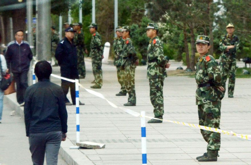 KYODO NEWS VIA ASSOCIATED PRESS China has responded to more than a week of surprising protests in Inner Mongolia with its well-honed strategy: deploy overwhelming force, keep potential protesters from gathering and pledge to address at least some grievances.